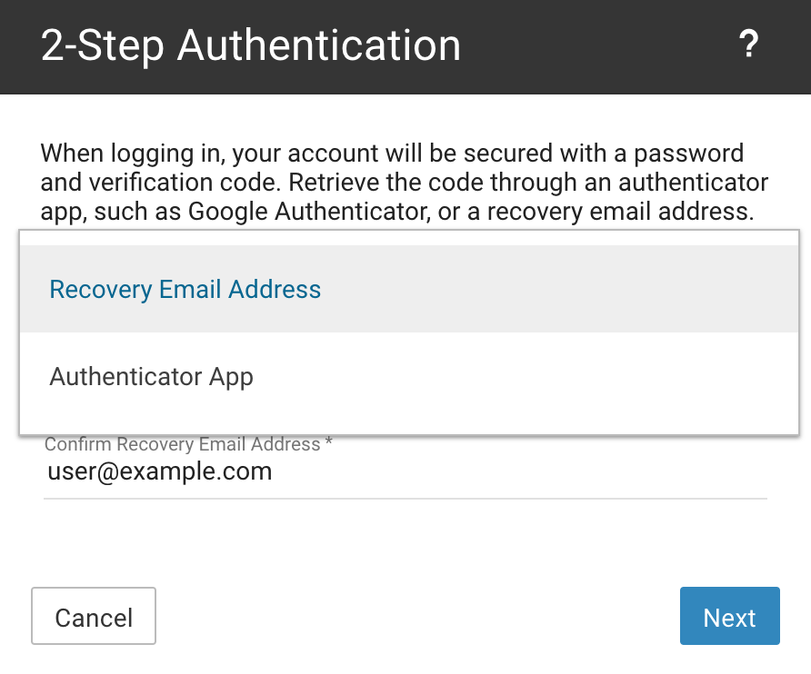 2step Auth