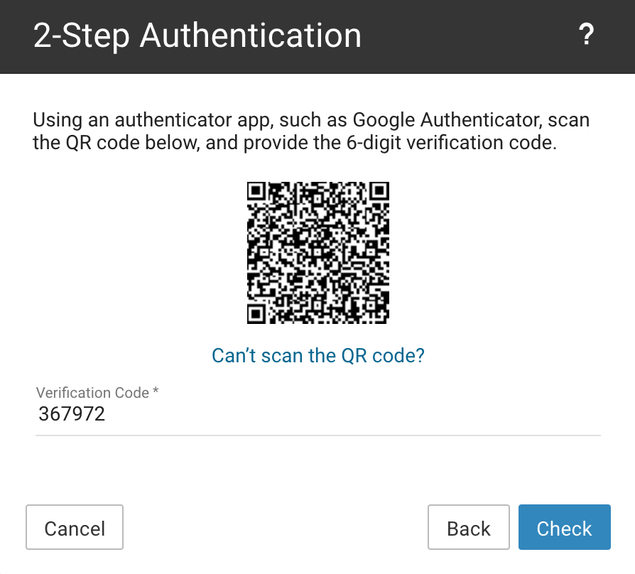 2step Auth Code1
